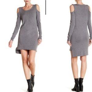 Lovestitch Cold Shoulder Sweater Dress sz S